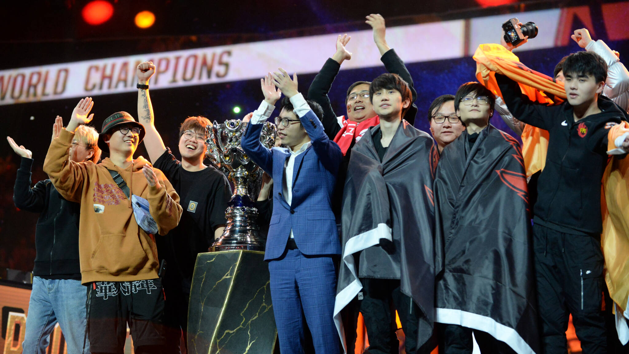 League of Legends winnaars